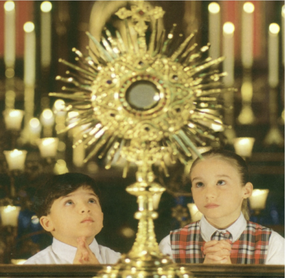 What to do during catholic adoration