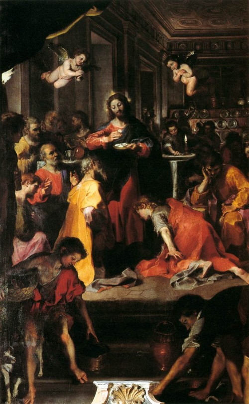 Federico Barocci, Insitution of the Eucharist, Rome, S. Maria sopra Minerva, 1608