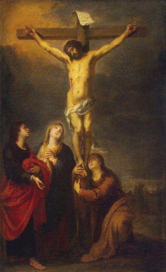 Crucifixion, Bartolome Esteban Murillo