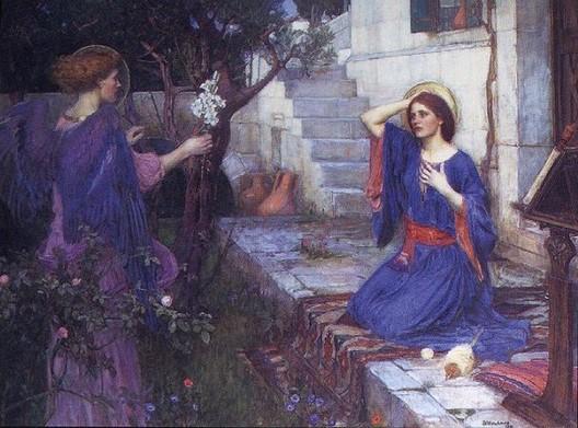 Annunciation, 1914, John William Waterhouse
